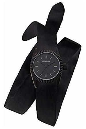 Zadig & Voltaire Unisex Adult Analogue Quartz Watch with Textile Strap ZVS001