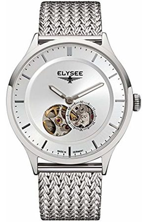 ELYSEE Unisex Adult Analogue Automatic Watch with Stainless Steel Strap 15100M