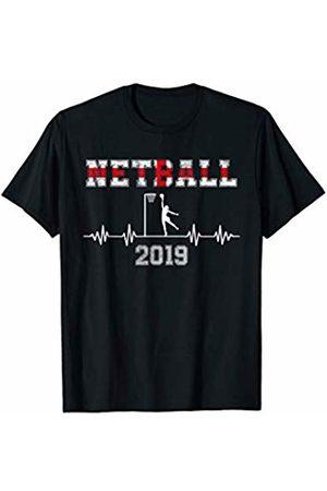 Netball World Supporter Player Clothing England Netball Sports Supporter Player T-Shirt