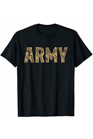 Army Gifts. Army Proud Veteran Vintage Physical Fitness Workout Gift T-Shirt