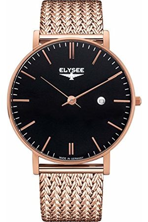 ELYSEE Unisex Adult Analogue Quartz Watch with Stainless Steel Strap 98005M