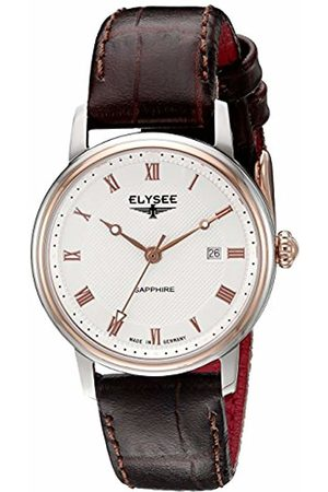 ELYSEE Unisex Adult Analogue Quartz Watch with Leather Strap 77009L