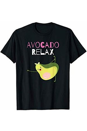 AvoCardio Funny Avocado Fitness Workout Gifts Men T-shirts - Avocado Relax Funny Avocado Yoga Fitness Workout Exercise T-Shirt