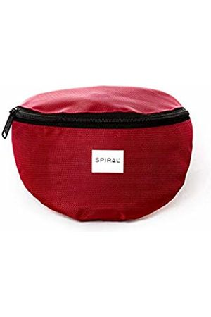 Spiral Active Burgundy Bum Bag Sport Waist Pack, 23 cm
