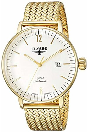 ELYSEE Unisex Adult Analogue Automatic Watch with Stainless Steel Strap 13281M