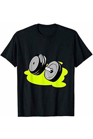 ArtAttack Shirts & Tees Barbell Gym Weights T-Shirt