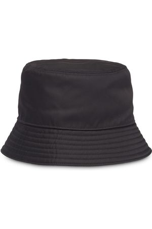 Prada Triangle patch bucket hat