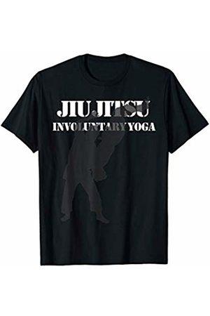 Cupcake Sprinkles Design Funny Jiu Jitsu Involuntary Yoga T-Shirt