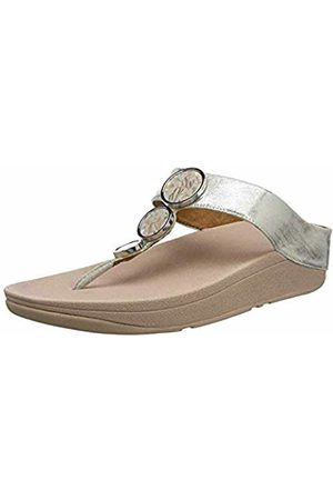 FitFlop Fit Flop Women's Halo Shimmer Toe-Thongs Open Sandals