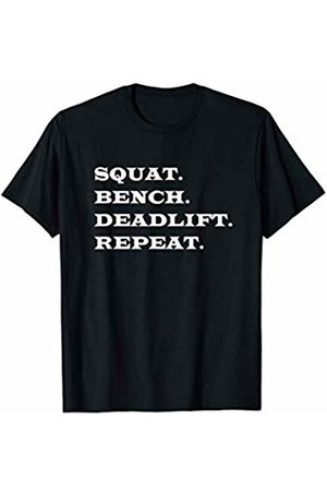 Weight Lifting T-Shirts Powerlifting T-Shirts Gym Shirt for Men Women Benchpress Squat Gym Deadlift Shirt