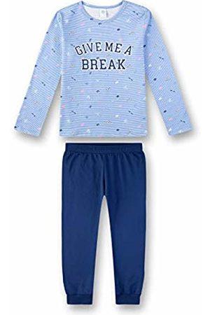 Sanetta Girl's Pyjama Set, ( Sky 50309)