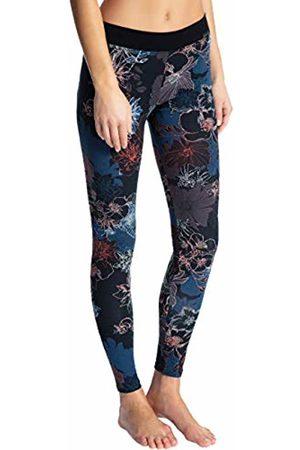 Calida Women's Elastic Trend Leggings, (Dark Clover 329)