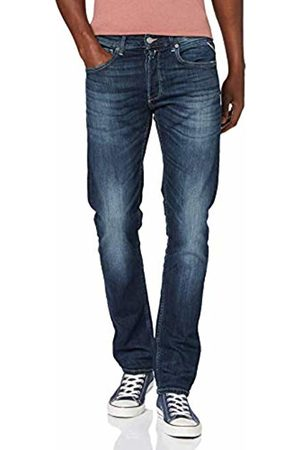 Replay Men Tapered - Men's Grover Tapered Fit Jeans, Dark 7