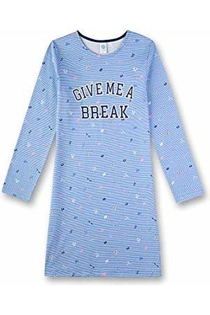 Sanetta Girl's Nachthemd Nightie, ( Sky 50309)