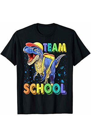Back To School T Shirt Students Teacher Team School Dinosaur T Rex Shirt Gift First Day