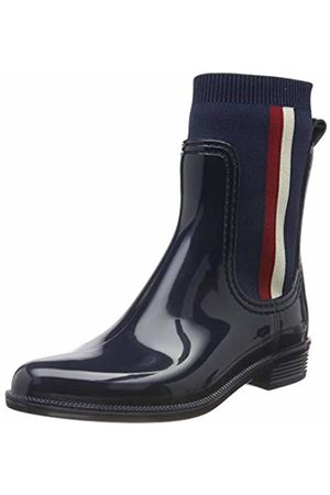Tommy Hilfiger Women's Knitted Rain Boot Ankle