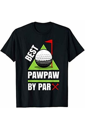 Funny Golf Shirts for Grandfathers - Wtz Funny Golf Quote Best Pawpaw by Par T-Shirt