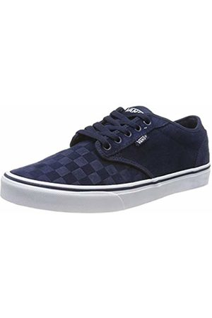 Vans Men's Atwood Trainers, (Suede Emboss) Dress Blues/ Uyi