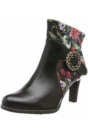 LAURA VITA Women's Alcbaneo 21 Ankle Boots, Noir