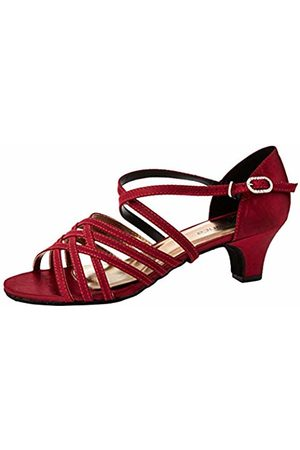 So Danca Women's BL180 Ballroom & Latin Shoes, Burgundy