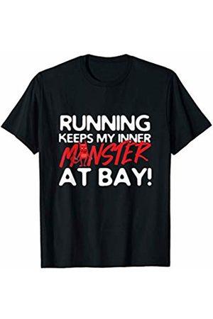 Bowes Fitness Running Keeps My Inner Monster At Bay T-Shirt