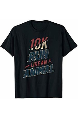 Run Like An Animal Marathon Apparel 10k Race Marathon Runner Quote T-Shirt