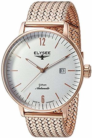 ELYSEE Unisex Adult Analogue Automatic Watch with Stainless Steel Strap 13282M