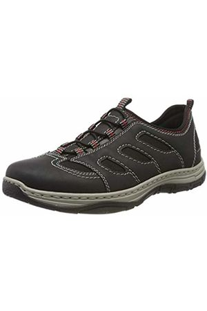 Rieker Men's 16352-00 Low-Top Sneakers, Schwarz/Rauch 00