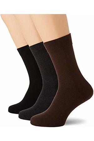 Dim Chaussettes Femme & Homme Men's Mi-chaussette Basique Coton X3 Calf Socks