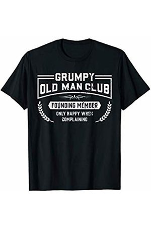Best Father Grandfather Shirts Clothing & Apparel Grumpy Old Man Club Founding Member Funny Shirt Grandpa Dad