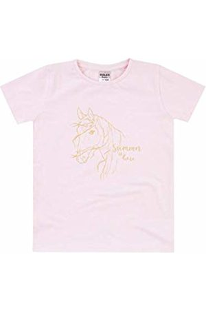 Boley Baby Girls' T-Shirt Basic Line (Rosa 2100)