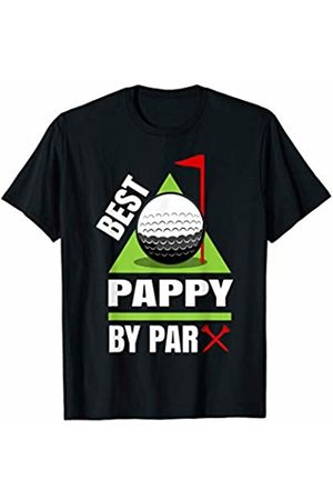 Funny Golf Shirts for Grandfathers - Wtz Funny Golf Quote Best Pappy by Par T-Shirt