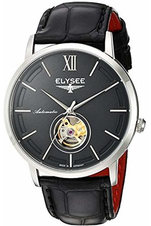 ELYSEE Unisex Adult Analogue Automatic Watch with Leather Strap 77010G