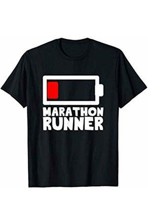 Bowes Fitness Marathon Runner Running On Empty T-Shirt