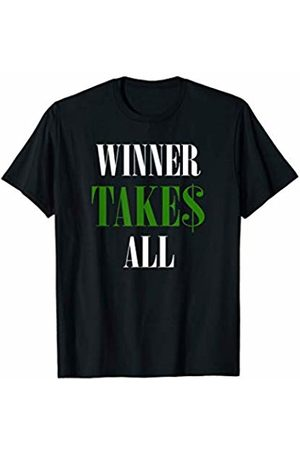 !RALUPOP Poker Shirts | Funny WINNER TAKES ALL For Gambling or Gamer T-Shirt