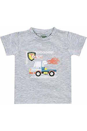 Boley Baby Boys' T-Shirt Basic Line (Graumelange 7000)