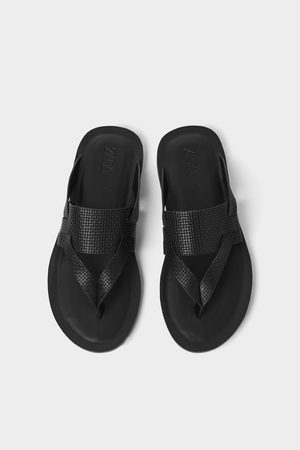 Zara Embossed sandals