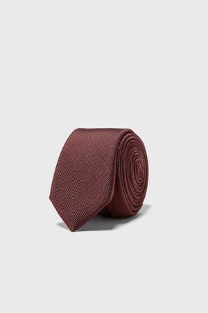 Zara Men Ties - Ottoman skinny tie