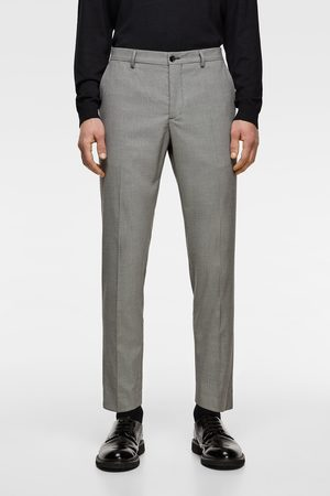 Zara Houndstooth suit trousers