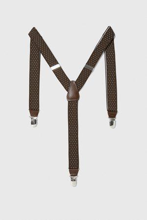 Zara Men Braces - Thin polka dot braces