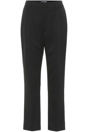 Prada Straight wool trousers