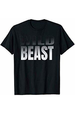 Gym Passion Motivation Apparel Men T-shirts - Wild Beast Workout T Shirt