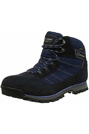 Berghaus UK Women Boots - Women's Hillwalker Trek Tech Boot High Rise Hiking (Navy/ N07)