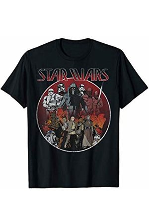 STAR WARS Last Jedi Vintage Stand Off Graphic T-Shirt