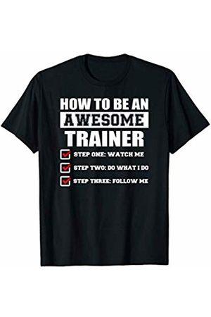 Medotukito Awesome Trainer Funny Gift Shirt