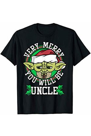STAR WARS Yoda Merry You Will Be Uncle Christmas T-Shirt