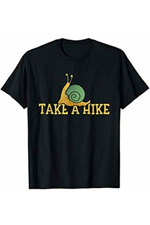 Funny Snugg Men T-shirts - Take a Hike t-shirt cute retro snail art funny take a hike