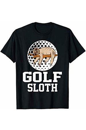 Funny Sports Sloth Shirts Golf Sloth T-shirt Golf Player Sloth Lover
