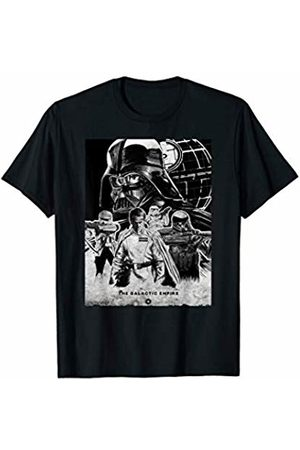 STAR WARS Rogue One Empire Military Poster Graphic T-Shirt