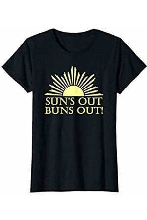 Suns Out Buns Out Gear Womens Suns Out Buns Out Shirt for Women & Summer Swimsuit